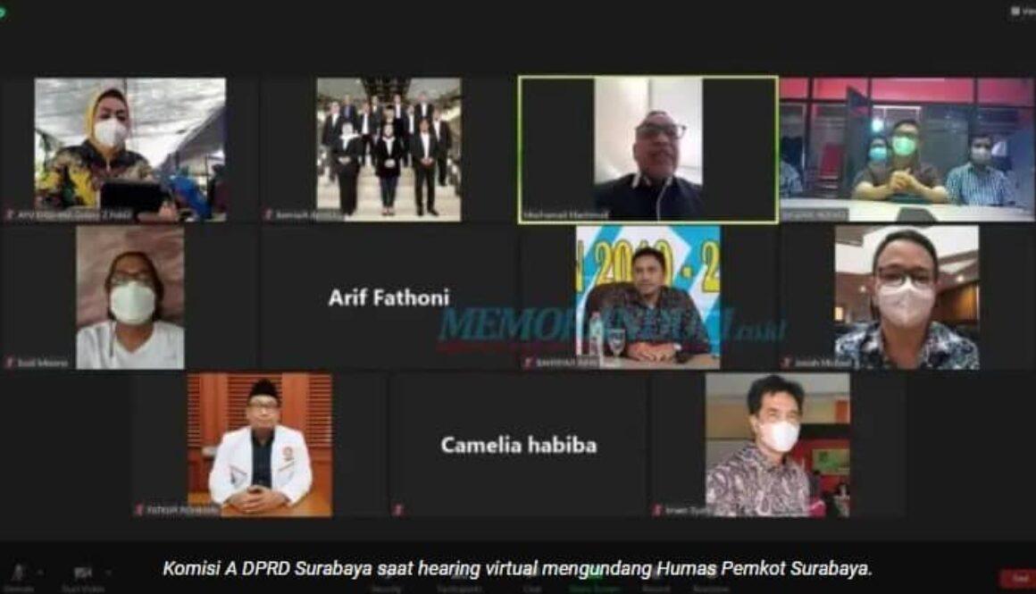 DPRD Surabaya Minta Pemkot Sumbat Sumber Munculnya Penularan Covid-19